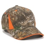 CBI-305 Structured, REALTREE EDGE_BLAZE Velcro Closure